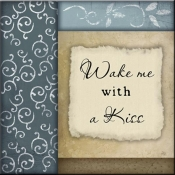JP- Wake Me With A Kiss - Accent Tile