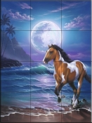 Appaloosa Dreams - JW - Tile Mural