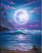 Island Dreams - JW - Tile Mural
