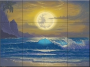 Heaven's Light  - JW - Tile Mural
