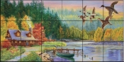 A Perfect Day-CC - Tile Mural