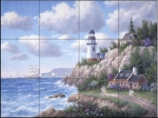 Whitefish Pointe - DL - Tile Mural