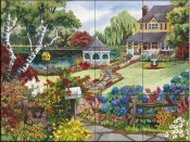 Country Retreat-NW - Tile Mural