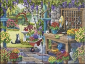 The Potting Shed - NW - Tile Mural
