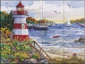 Safe Harbor - NW - Tile Mural