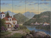 Cliffside Winery-DL - Tile Mural