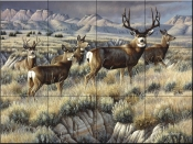 Up From the Coulee - CF - Tile Mural