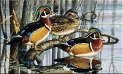 Backwater Woodies - CF - Tile Mural