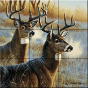 On the Alert - CF - Tile Mural