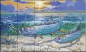 Tarpon Channel - CC - Tile Mural