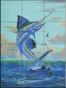 Double Sails-CC - Tile Mural