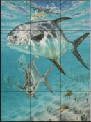 Channel Cruisers-DR - Tile Mural