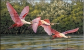 Flight - DR - Tile Mural