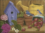 Signs of Spring-WV - Tile Mural