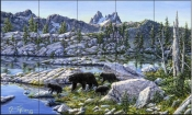 Black Bear - JT - Tile Mural
