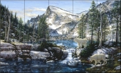 Summer In The Enchantments-JT - Tile Mural