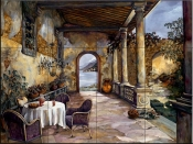 Loggia By The Sea-KS - Tile Mural