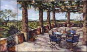 Vineyard Veranda-KS - Tile Mural