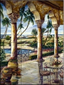 Corinthian Beachfront-KS - Tile Mural