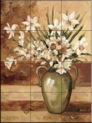 Early Summer Daffodils - DL - Tile Mural