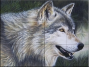 Timber Wolf Dark - CK - Tile Mural