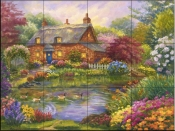 Summer Cottage-RK - Tile Mural