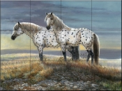 Appaloosa Sundown - CM - Tile Mural