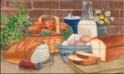 Daily Bread II - MT - Tile Mural