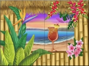 Tropical Bliss - MT - Tile Mural