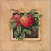 BM - Apple - Tile Mural