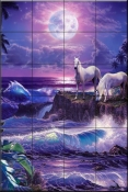 Moonlit Night - CRL - Tile Mural