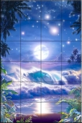 Heavenly Vista - CRL - Tile Mural