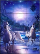 Shores of Paradise - CRL - Tile Mural