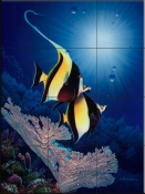Coral Cove - CRL - Tile Mural