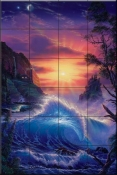 Dawn of Light - CRL - Tile Mural