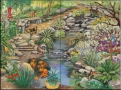 Creekside Path - SR - Tile Mural
