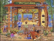 Mike's Bait Shop - SR - Tile Mural
