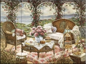 Afternoon Tea-JK - Tile Mural