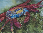 Rock Crab    - Tile Mural