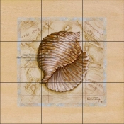 Sea Treasures I - JK - Tile Mural