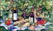 Vineyard Picnic-KM - Tile Mural