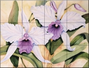 Donnas Orchid    - Tile Mural