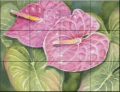 Anthurium    - Tile Mural