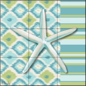 Watercolors II-PB - Tile Mural