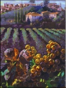 View of Tuscany - CH - Tile Mural