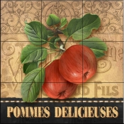 AW - Delicious Apples - Tile Mural