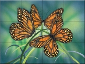Topaz Wings-DF - Tile Mural