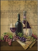 Vineyard-JS - Tile Mural