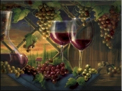Tuscan Sunset-JS - Tile Mural