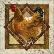 JS - Mother Hen - Accent Tile